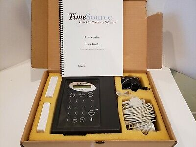 Icon Time Systems Time Calculator Employee Time Clock Set Z