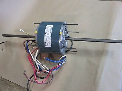 Fasco D774 Electric Motor 208-230v 14 Hp Part 7124-0100 Double Shaft