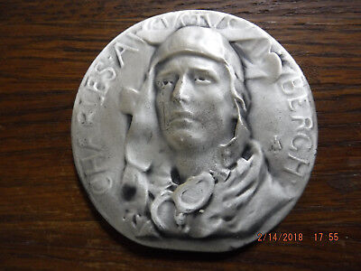Society of Medallists 1931 fourth issue Charles Lindbergh Lone EagleSilver Medal