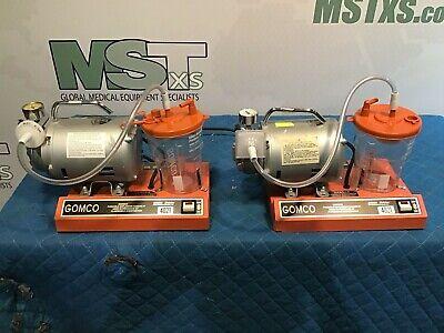 Gomco 4021 Aspirator Vacuum Suction Pumps Lot Of 2 Medical Healthcare