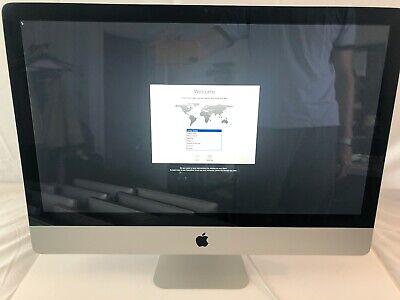 iMac (27-inch, Mid 2011), 1T SATA HDD, 12G RAM, 2.7GHz Core i5