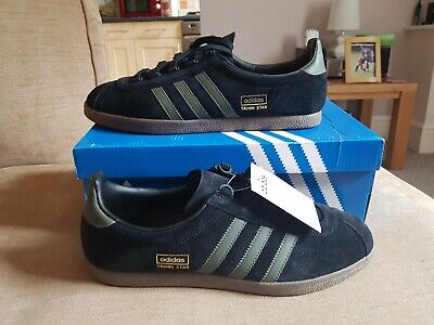 Trimm Star uk9 Black/Olive London bnwt colourway Not berlin or koln Stockholm