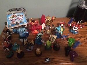 Skylanders trap team and super chargers for PS3