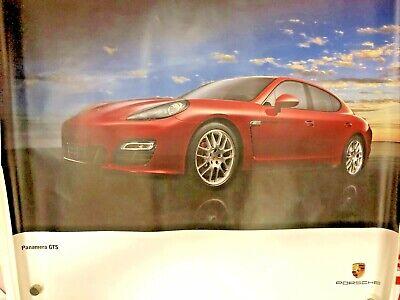 Panamera GTS Showroom Poster vintage 2011
