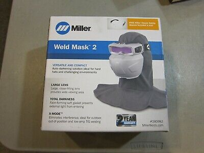 New - Miller Weld-mask 2 Auto Darkening Goggles 280982 Free Shipping
