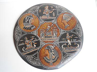 Wandbild mit Pharo-Zeiten Motive aus Kupfer, Ägypten