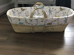 Baby Moses Wicker Basket