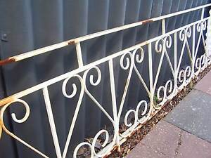 Strong steel vintage fencing Manning South Perth Area Preview