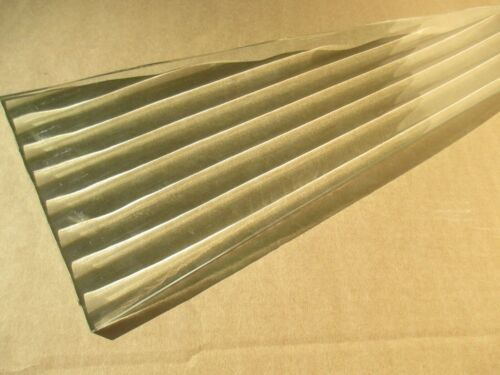 SEEBURG MODEL R JUKEBOX FLUTED GLASS PANEL EXACT THICKNESS, SIZE of ORGL PANELS