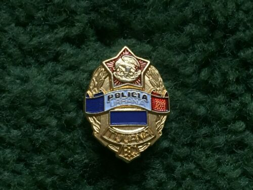 POLICIA URBANA POLICE TIJUANA MEXICO PIN BADGE