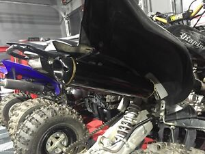 Raptor 700 two bros exhaust