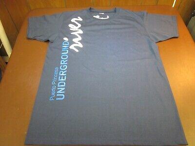 Puerto Princesa Underground River Blue T Shirt Medium F4
