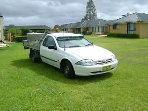 2001 Ford Falcon AUII SUPER CAB 1 TONER Black Hill Cessnock Area Preview