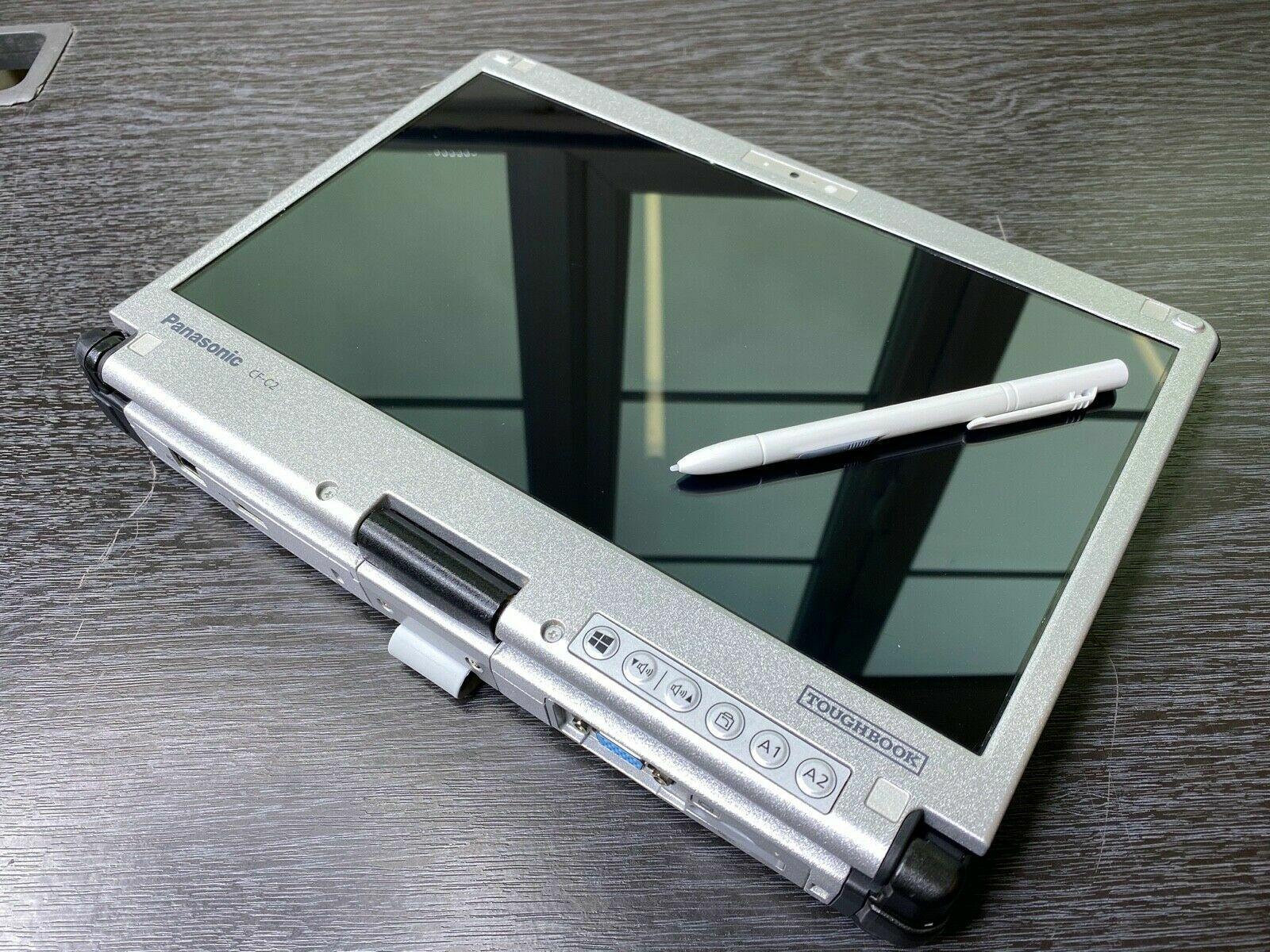 Laptop Windows - Panasonic Toughbook CF-C2 Rugged Laptop,Touch i5 4th Gen,8GB,256GB SSD,W7/W10 GC