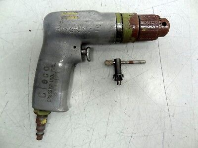 Cleco Mod. 136do-28 Pneumatic Drill W Jacobs 38-24 Impact Chuck Aircraft Tool