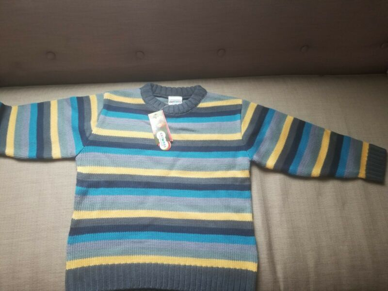 Boys Striped Sweater (6-7 Yrs)