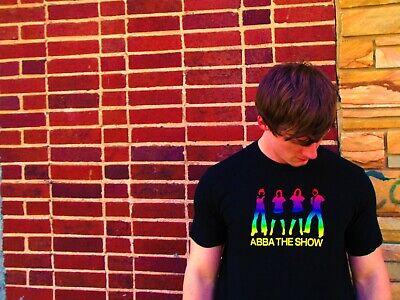 ABBA THE SHOW Black Cotton Size L T-Shirt