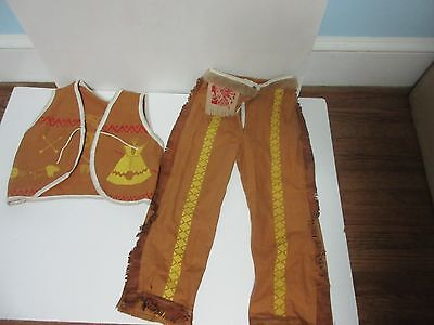 American Indian Boy's Costume 1950's - - 1950s Boy Costume