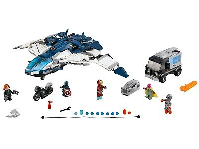 LEGO Marvel Avengers Quinjet City Chase (76032) Complete In Bags