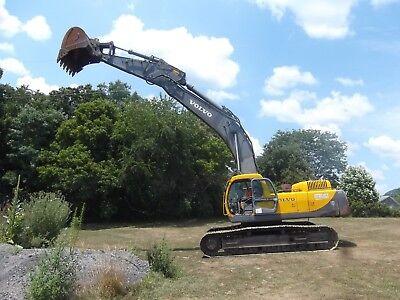 2002 Volvo Hydraulic Excavator Ec460lc Cummins M11 Engine Heat Ac