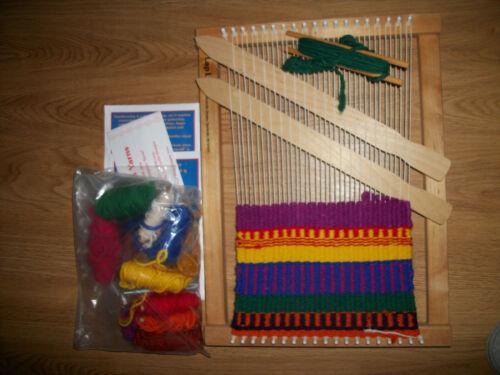 "Harrisville Designs The Original Lap Loom Hand Weaving Style A 12"" X 16"""