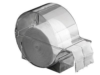 Tupfer Box (Zellettenspender Zellettenbox 500 Zelletten Set Zellstofftupfer Box Spender)