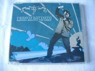 Franco Battiato RUNNING AGAINST THE GRAIN CD singolo Columbia 2001 SIGILLATO