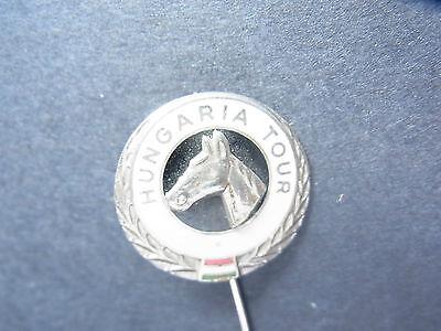 Antiguo Pin de Solapa Caballo Paseo Polo Hungaria Tour Stickpin, usado segunda mano  Embacar hacia Spain