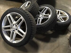 AMG 20inch Mercedes Benz Rims and tires GLK