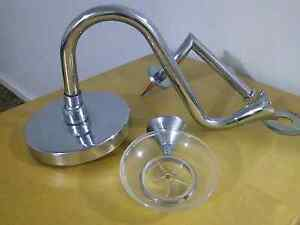 Large chrome shower head, soap & toilet roll holder Georgetown Newcastle Area Preview