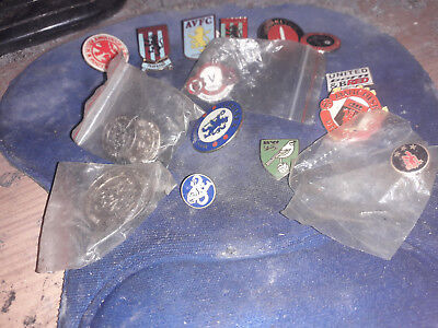 three aston vila fc assorted enamel pin badges new