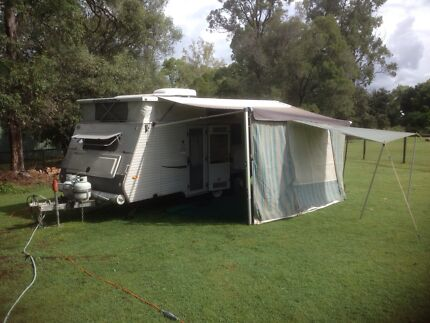 POP TOP CARAVAN WITH DOUBLE BED, BUNKS AND SHOWER Walloon Ipswich City Preview