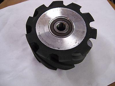 2x72 Belt Sandergrinder 4 Serrated Rubber Contact Wheel Knife Making Wheel