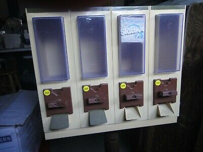 Vendall 4 Head Candy Vending Machine With Metal Stand