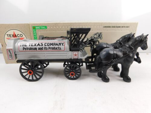 Ertl - 1991 Texaco Horse & Tanker Limited Edition - Diecast Metal NEW in Box