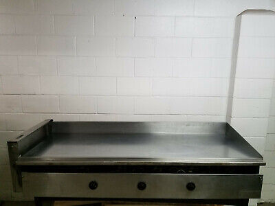 Miraclean 72 Flat Top Grill Nat Gas New Thermostatvalespilot Light Tested