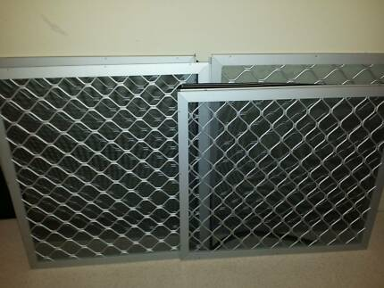 ALUMINIUM SECURITY SCREENS. 10 months old. Excellent condition. Liverpool Liverpool Area Preview