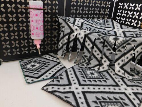 Six Piece Accessory Pack-4 Pads-Cuddle Sack & Corner Hidey/Hammock-Any Pattern