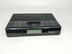 iHome iH27B Alarm Clock Portable Speaker Radio Dock Station - Free Shipping