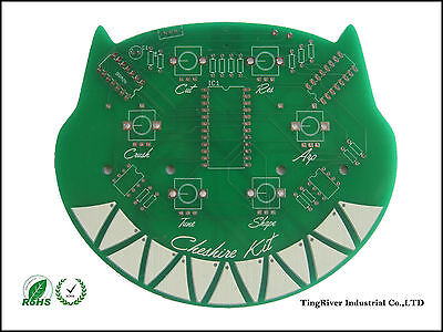 2layer Pcb Prototype Manufacture Fabrication Length10cmwidth10cm 10pcs