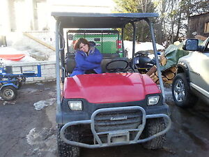 PRICE REDUCED $ 7,000  4 seater kawasaki mule 620 cc only 280 hr