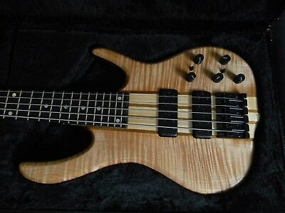 2018 Ken Smith BSR5WT White Tiger 5 String Electric Bass  Brand New!