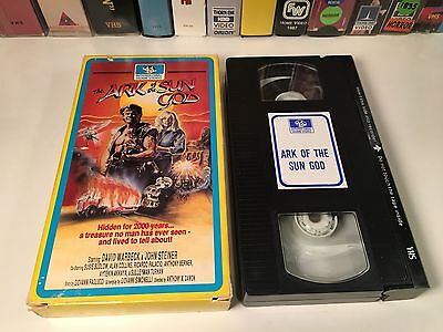 The Ark Of The Sun God Italian Action VHS 1984 David Warbeck Antonio Margheriti