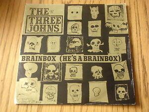 THE THREE JOHNS - BRAINBOX    7