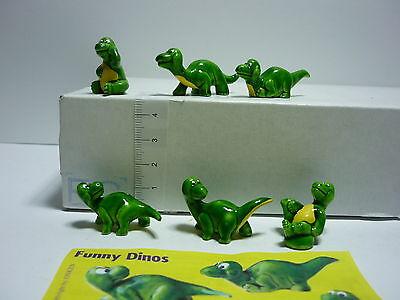 Onken/ Funny Dinos/ Fremdfiguren Satz mit 1 BPZ