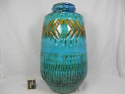 Beautiful glazed 60´s design Carstens Tönnieshof Keramik Vase  48 - 40.