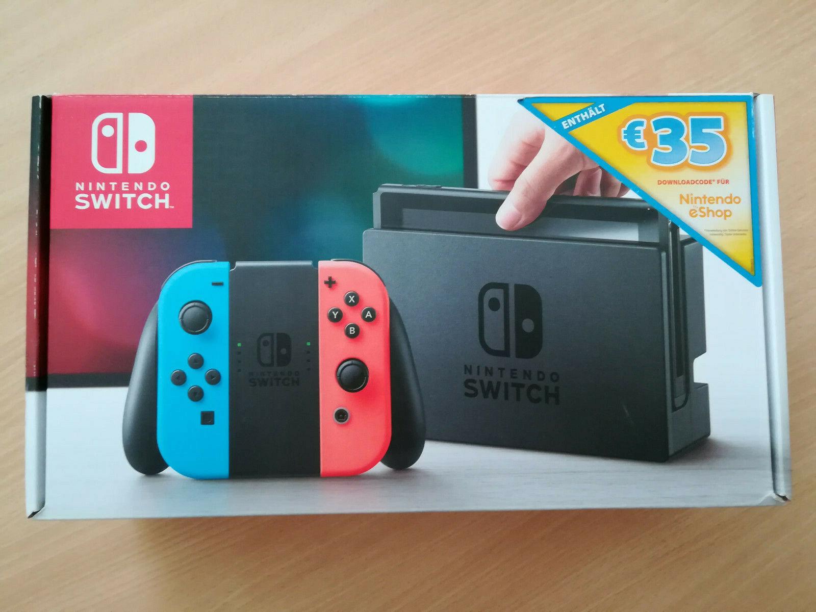 Nintendo Switch Spielekonsole, 2 Spiele (Zelda-Breath of the Wild), Rg. 27.07.20