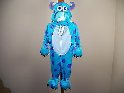 Disney Baby Sulley Halloween Costume Monsters Inc 12/18M, 4/5T **NEW W/ TAGS* - Monsters Inc Infant Halloween Costumes