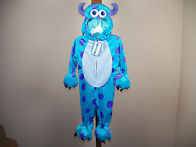 Disney Baby Sulley Halloween Costume Monsters Inc 12/18M, 4/5T **NEW W/ TAGS*