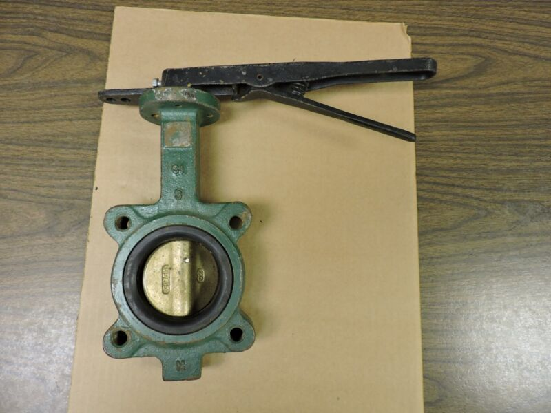 "CENTERLINE 55 SERIES 200 BUTTERFLY VALVE 3"" DIA, AL BRONZE DISC"